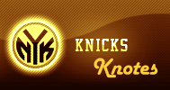 Knicks Knotes Header